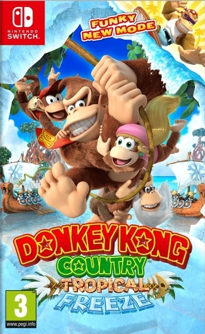Donkey Kong Country Tropical Freeze Nintendo Switch (BLACK FRIDAY)